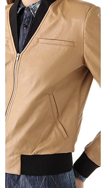 Antipodium 3 Colts Bomber Jacket