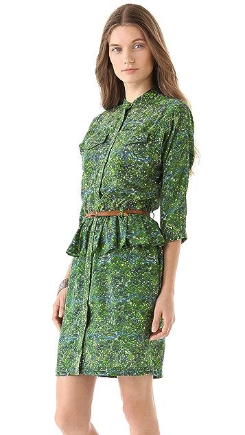 Antipodium Powerscroft Peplum Dress