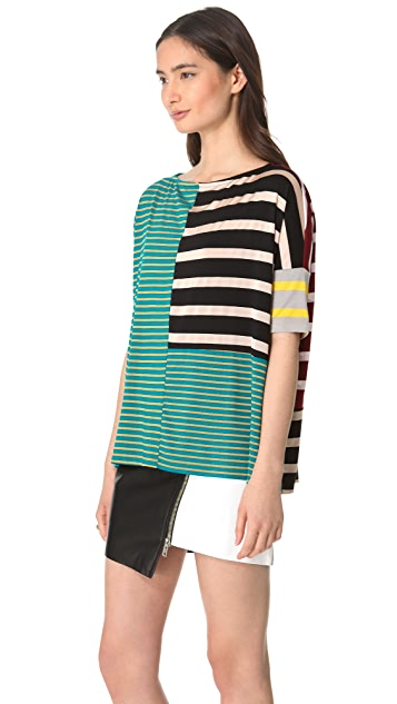 Antipodium Syntax Striped Tee