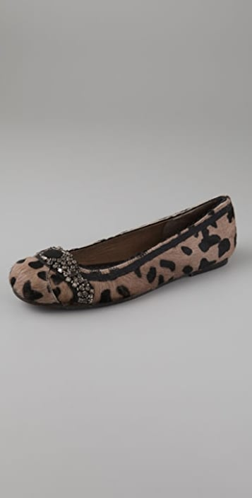 Antik Batik Zantro Haircalf Flats