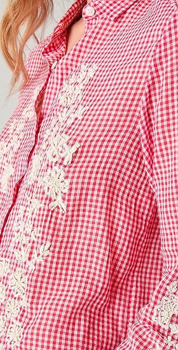 Antik Batik Alama Embroidered Shirt