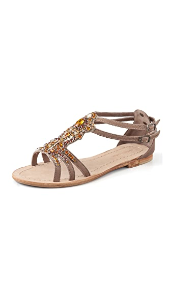 Antik Batik Moana Crystal-Embellished Sandals