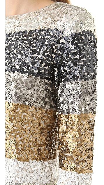 Antik Batik Troca Sequin Top
