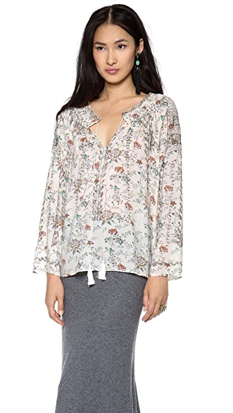Antik Batik Curtis Peasant Top