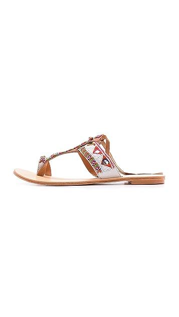 Antik Batik Adonis Beaded Sandal
