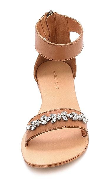 Antik Batik Coline Jeweled Band Sandals