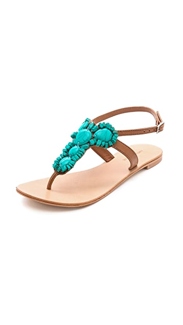 Antik Batik Ibiza Beaded Sandals
