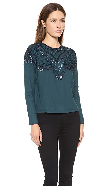 Antik Batik Elysia Embellished Top