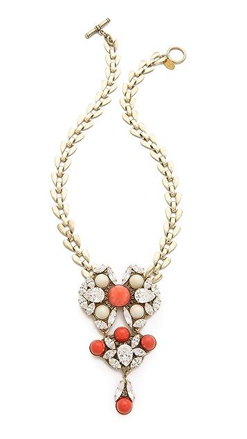 Anton Heunis Crystal Drop Necklace