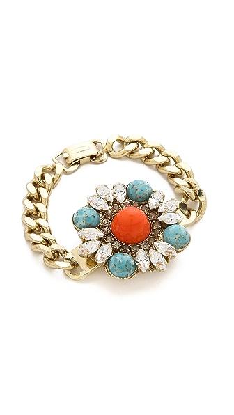 Anton Heunis Floral Cluster Bracelet