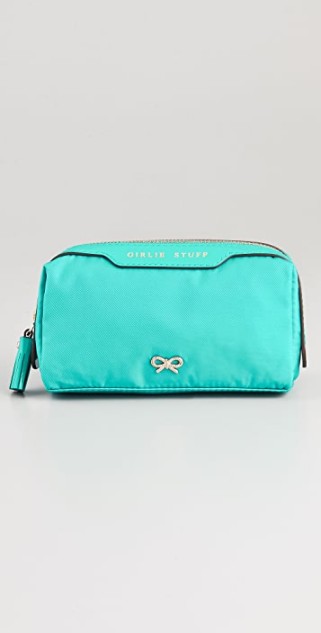 Anya Hindmarch Girlie Stuff Cosmetic Bag