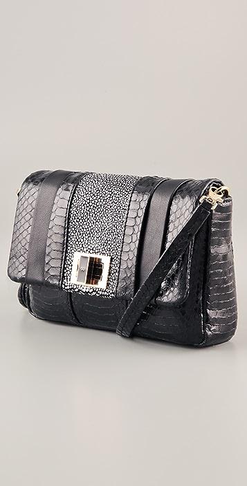 Anya Hindmarch Mini Gracie Snakeskin Bag