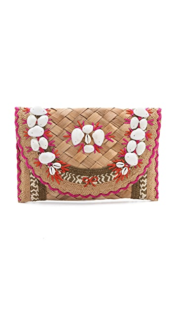Anya Hindmarch Ipanema Shells Clutch