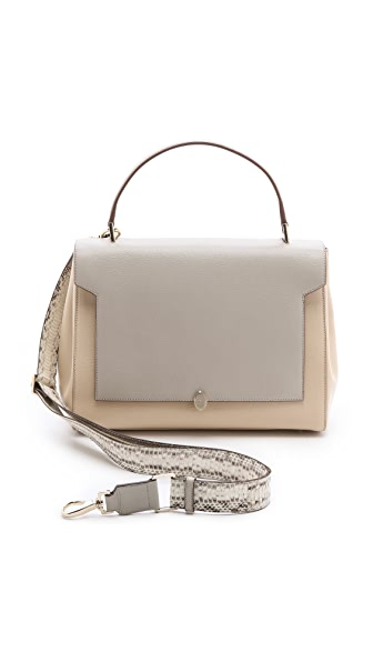 Anya Hindmarch Bathurst Bow Soft Satchel