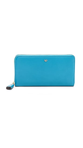 Anya Hindmarch Large Zip Around Wallet