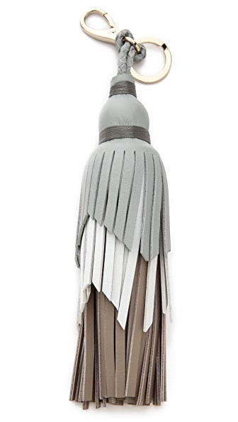 Anya Hindmarch Three Tiered Tassel Key Ring