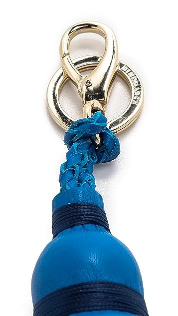 Anya Hindmarch Three Tiered Tassel Key Ring