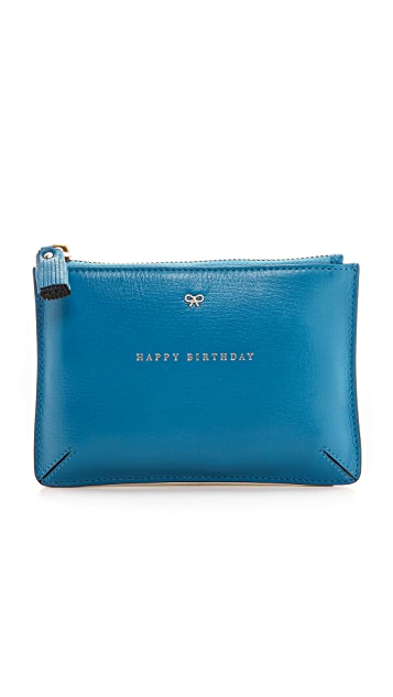 Anya Hindmarch Loose Pocket Birthday Pouch