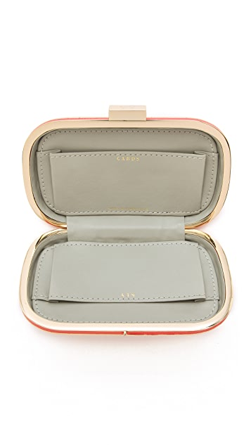Anya Hindmarch Mini Marano Victory Clutch