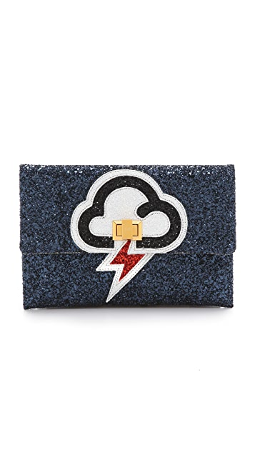 Anya Hindmarch Valorie Lightning Clutch