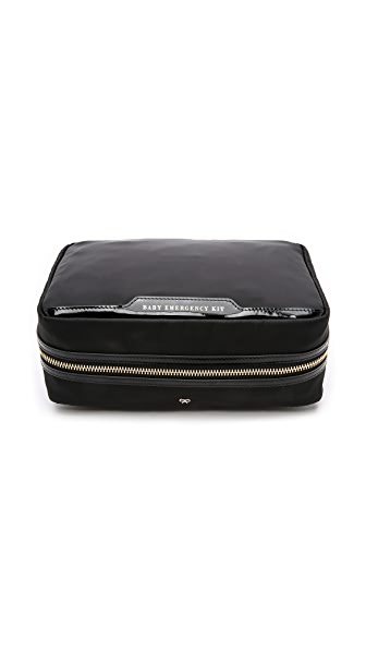 Anya Hindmarch Baby Emergency Kit - Black