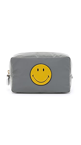 Anya Hindmarch Smiley Makeup Pouch