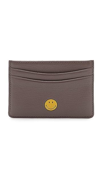 Anya Hindmarch Smiley Card Case