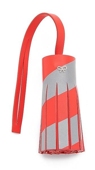 Anya Hindmarch Reflective Tassel Bag Charm