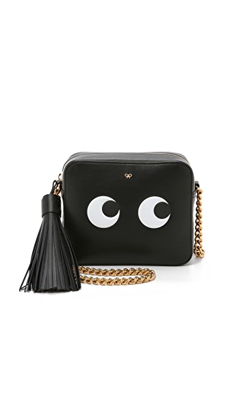 Anya Hindmarch Cross Body Bag With Eyes - Black