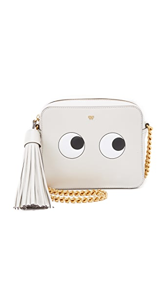 Anya Hindmarch Cross Body Purse With Eyes - Chalk