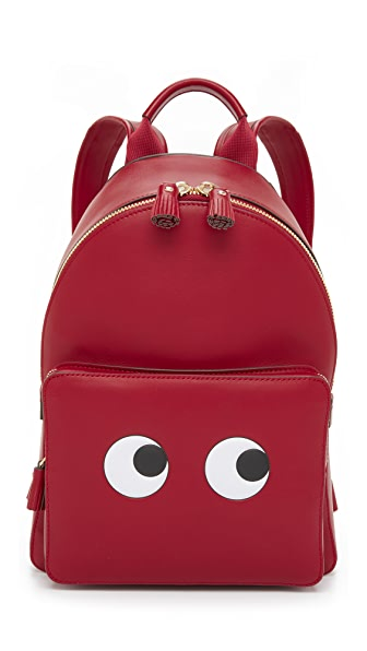 Anya Hindmarch Backpack With Eyes - Vampire