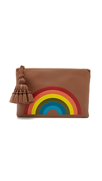Anya Hindmarch Rainbow Georgiana Clutch