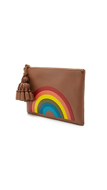 Anya Hindmarch Rainbow Georgiana Clutch