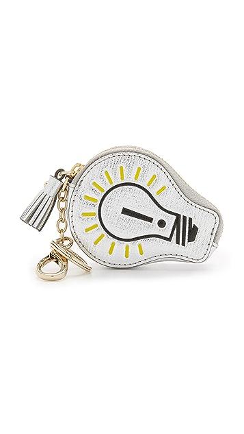 Anya Hindmarch Lightning Bulb Coin Purse