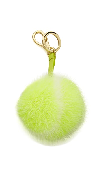 Anya Hindmarch Mink Tennis Ball