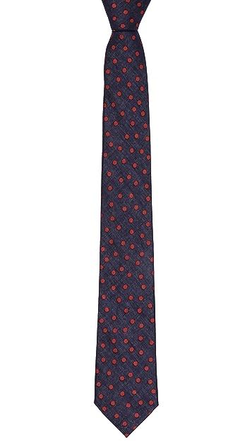 Alexander Olch The Hayden Polka Dot Necktie