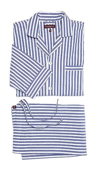Alexander Olch Seersucker Pajama Set