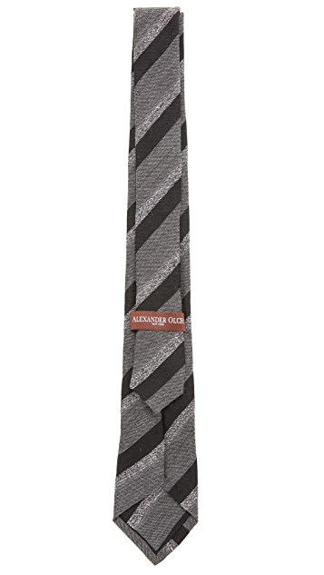 Alexander Olch Couple Stripe Necktie