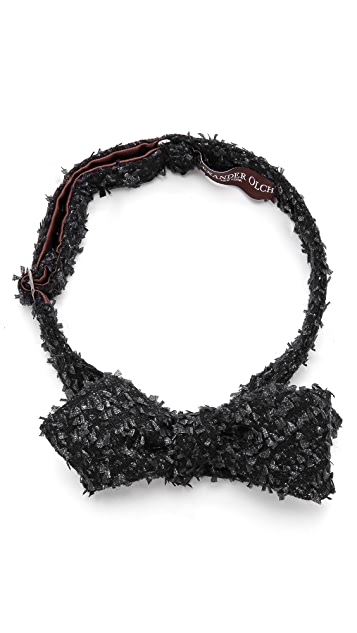 Alexander Olch Oscar Exposed Thread Bow Tie