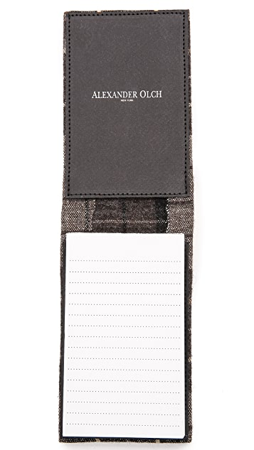 Alexander Olch Detective Notebook Cover