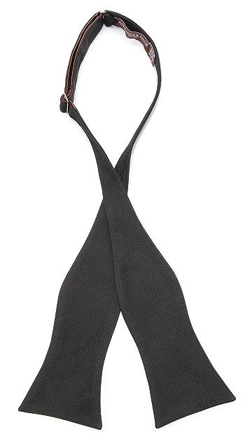 Alexander Olch The Oscar Repp Silk Butterfly Bow Tie