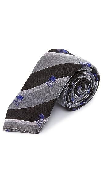 Alexander Olch The Little Guy Stripe Necktie