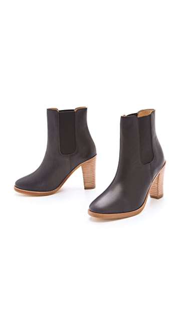 A.P.C. Gored Ankle Booties