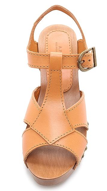 A.P.C. Slingback Clog Sandals