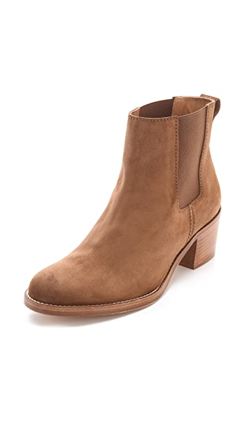 A.P.C. Pull On Gored Booties