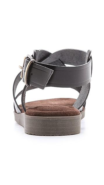 A.P.C. Flat Sandals