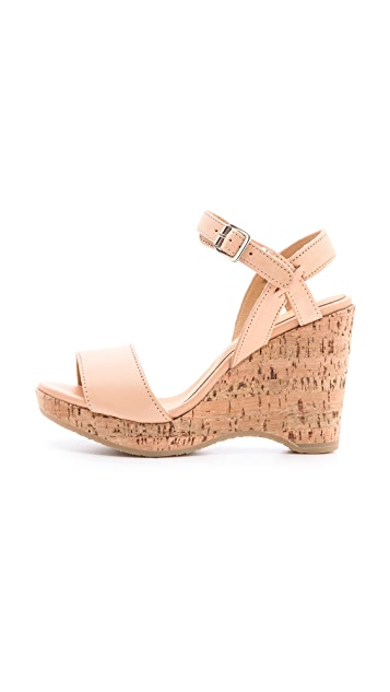 A.P.C. Cork Wedge Sandals