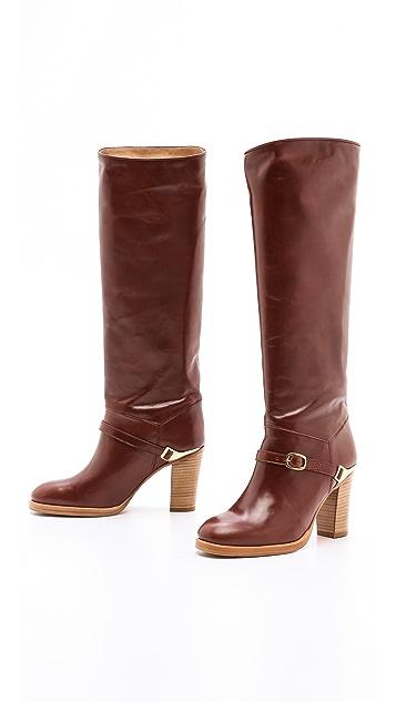 A.P.C. Tall High Heel Boots