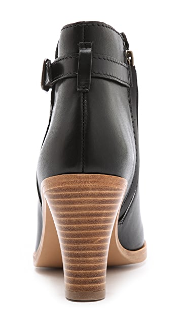 A.P.C. Mid Heel Ankle Booties