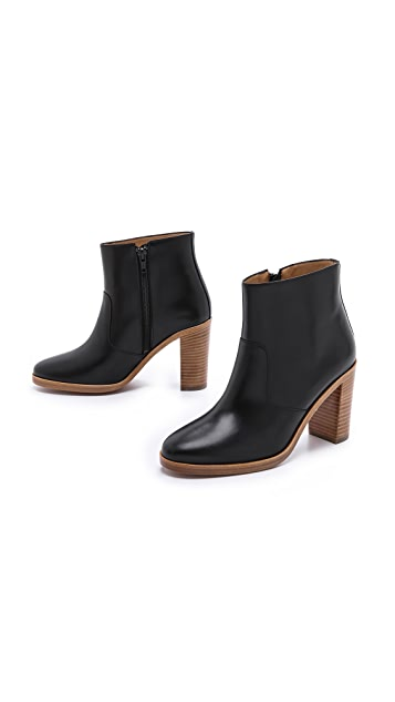 A.P.C. Heeled Ankle Booties